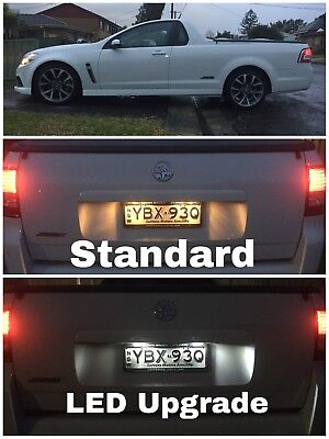 Holden Commodore Ute-Wagon-Sedan Ve-Vf License Plate Led Kit - Super Bright!!!