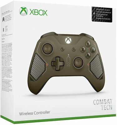 Genuine Microsoft Xbox One Wireless Controller Combat Tech Special Edition
