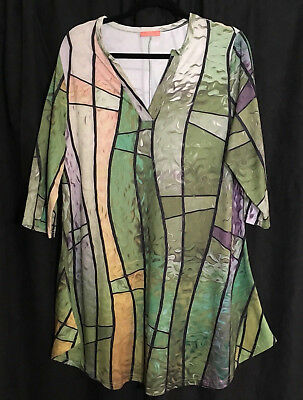Simply Aster Sublimated Burning Man Tunic Unisex LARP Costume Size L
