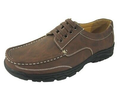 Mens Brown Shoreside By Coolers Lace Up Casual Shoe Size 11