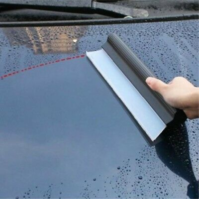 Silicone Home/Car Water Wiper Scraper Blade Squeegee Clean Window Cleaner Dry PM