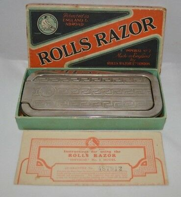 Vintage Rolls Razor Imperial No. 2 - Made in England
