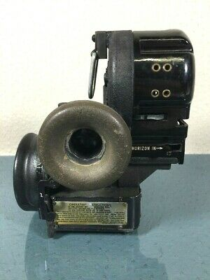 Vintage US Army Air Corps Bendix Bubble Sextant Type AN-5851-1 #158