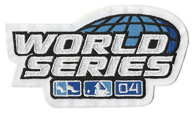 f3df2e233 2004 World Series Mlb Baseball Red Sox Vs Cardinals Jersey Sleeve Patch