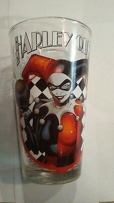 Harley Quinn and Catwoman drinking glass. 12 oz. Made in China.