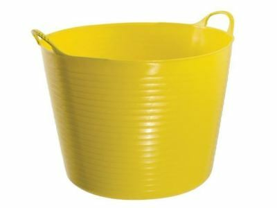 Red Gorilla TUB42 Gorilla Tub® Large 38 Litre - Yellow