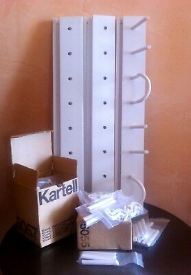 Kartell Appendiabiti 60 Cm Attaccapanni Wall Hanger Italian Home Vintage Nuovo