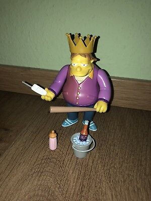 simpsons playmates Barney Plow King Guter Zustand