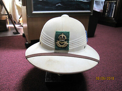 RAF Desert Air Force ww2 North Africa Pith Helmet with insignia
