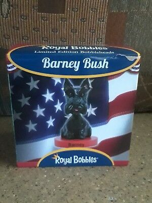 Royal Bobbles Barney Bush Bobbled Head