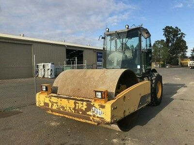 2011 Volvo Sd160 Dx Vibratory Compactor Roller