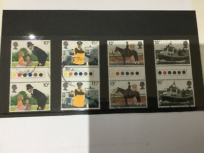 GB 1979 150th Anniversary of Metropolitan police Gutter pairs traffic light used