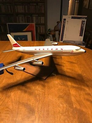 Western Airlines Model by Pacific Miniatures Inc plastic