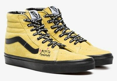 Vans Sk8 Hi A Tribe Called Quest Pack ATCQ Bonita Applebum Mellow Yellow  Shoes 980661c32