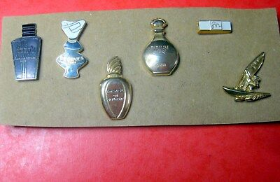 anciens pins parfums GIVENCHY, JIMMY'S, REGINES, CARON, FOR ? ...
