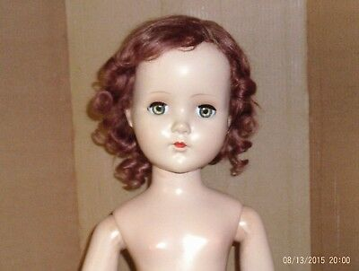 vintage 21 in. hard plastic/jointed Arranbee doll