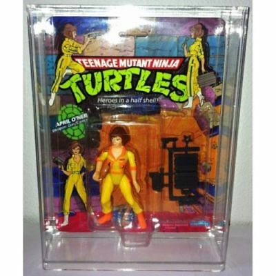 Bespoke Acrylic Display Case For MOC Carded Teenage Mutant Ninja Turtles TMNT