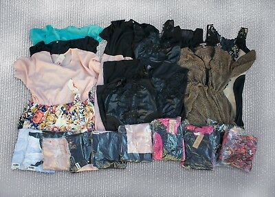 Wholesale lot of 20 Women Mixed Dresses Small, Medium, Large, XL, XXL, XXXL New