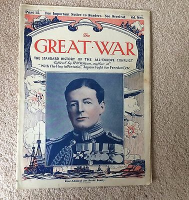 WWI THE GREAT WAR Standard History of the All Europe Conflict HW Wilson PART 15
