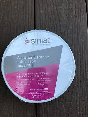 Siniat Weather Defence Joint Tape 60mm x 25m