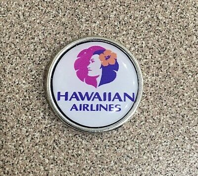 Hawaii Hawaiian  airlines Logo Pin Badge .Check My Store List.✈️✈️✈️✈️✈️✈️