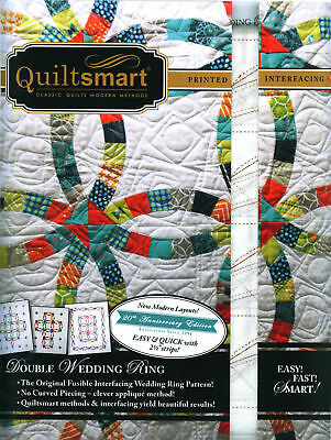 Double Wedding Ring Classic Pack Printed Interfacing Quilt Pattern Quiltsmart
