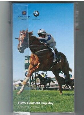 2010 Caulfield Cup Day Race Book - Descarado - Horse Racing