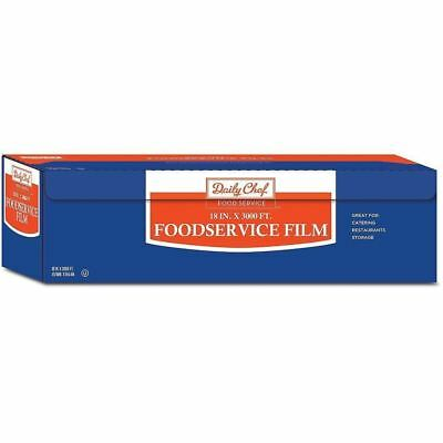 """Foodservice Film 18"""" x 3,000' Heavy Duty Kitchen Cling Wrap Restaurant Catering"""