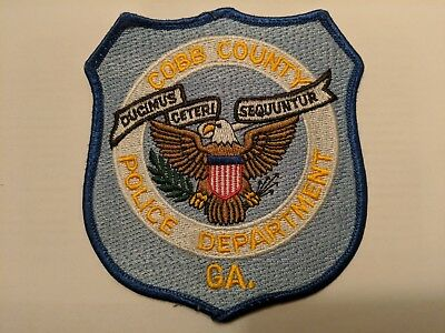 New: Cobb County GEORGIA Police Department Patch