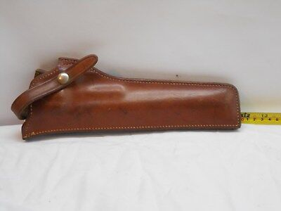 Safariland Brown Leather Holster LEFT HANDED S&W LG/FR 25