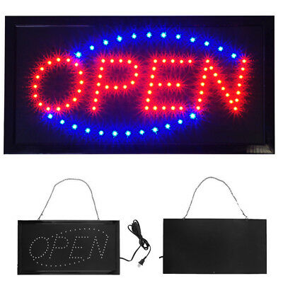 2019 Ultra Bright Animated LED Light Open Business Bar Store Window Sign neon