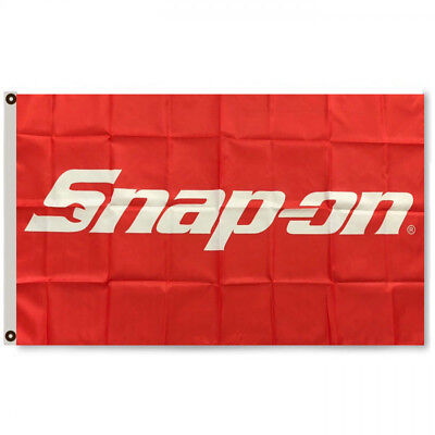 Snap-on Tools Flag Banner Wrench Garage Man Cave 3x5Feet