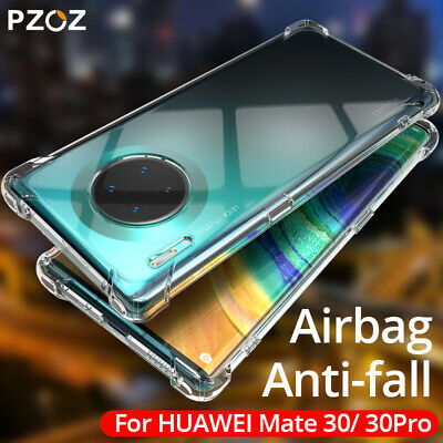 For Huawei Mate 20 X Lite Mate 10 Pro Case Clear Slim Shockproof Gel TPU Cover