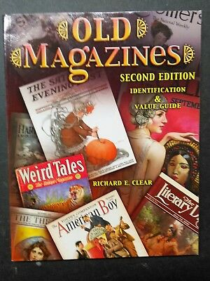 Old Magazines Second Edition Identification Value Book New Book Collectors Book