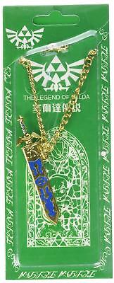 Oliasports The Legend of Zelda Link Master Sword Keychain/Necklace Cosplay