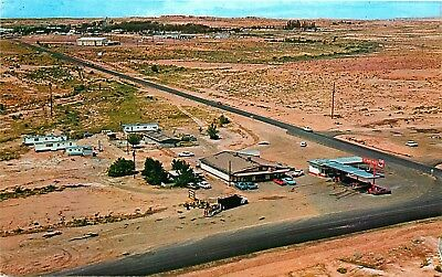 Navajo Trail Shopping Center, Tuba City, Arizona, Vintage Postcard
