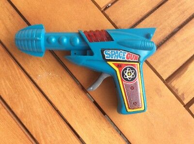 vintage space gun friction toy made in japan 1970's?