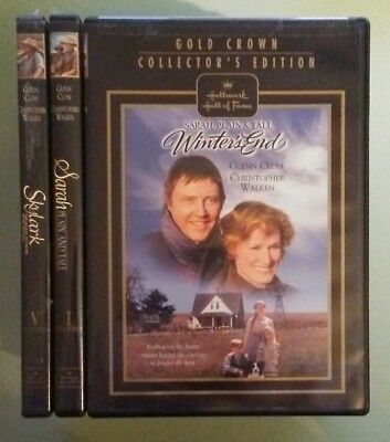 SARAH PLAIN AND TALL / SKYLARK / WINTER'S END  winters DVD LOT