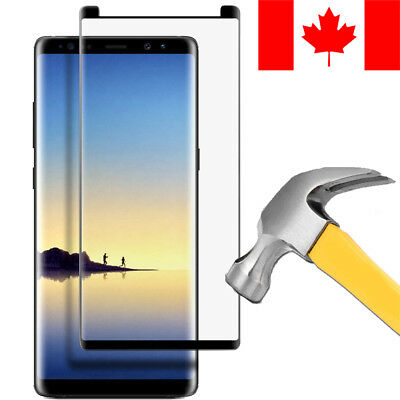 3D Full Cover Tempered Glass Screen Protector For Samsung Galaxy Note 8