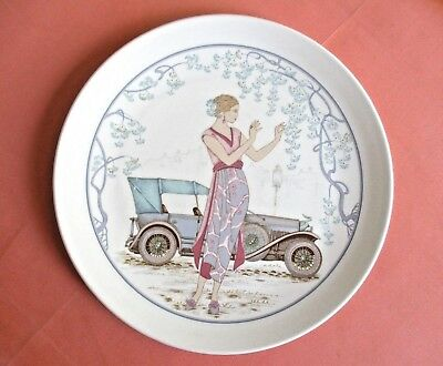Royal Worcester Spode Hammersley Art Deco Style Bone China Wall Display Plate