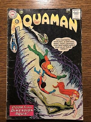 Aquaman #11 (Sep-Oct 1963, DC)