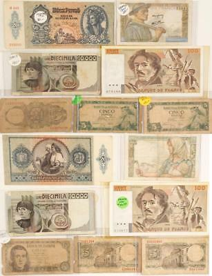 Paper Currency of Europe Lot 1524