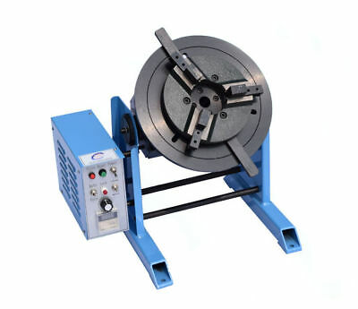 30KG Rotary Welding Positioner Turntable Timing Function With 300mm Chuck