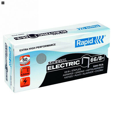 Rapid Agrafes SuperStrong 66/8+, Longueur 8.5 mm, 5000 Agrafes, Agrafe...