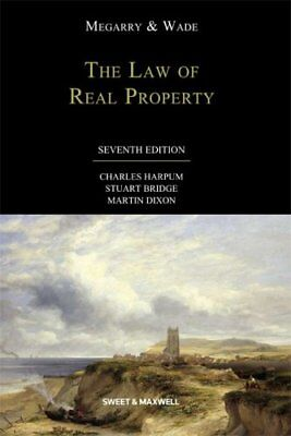 Megarry and Wade: The Law of Real Property By Charles Harpum,Stuart Bridge,Mart