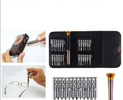 IPOD IPAD Repair Tool Kit 25 in 1 Screwdriver Mobile Phone SET FOR iPHONE 4 5 6