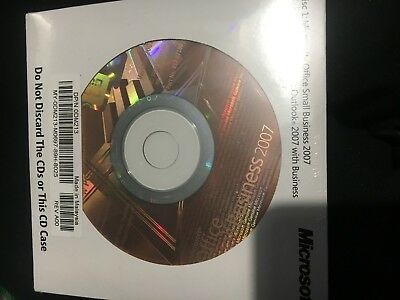 Microsoft Office Small Business 2007  - Brand New