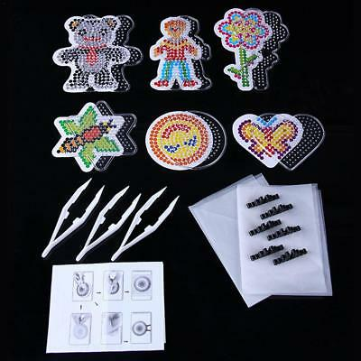DIY Puzzle Parent-Child Hand-Made Fuse Bead Super Kit Animal Pegboards Templates