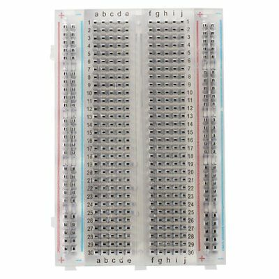 Experiment Board Breadboard Circuit Board ZYJ - 60 White NEW S4B9