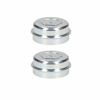 Replacement 48mm Dust Hub Cap Grease Cover for Alko Trailer Drums PACK 2
